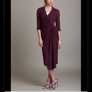 BYRON LARS BEAUTY MARK Twist Waist Dress Sz 6
